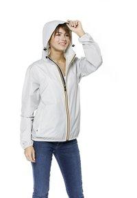 K-Way - UNISEX LE VRAI CLAUDE - Zip-up hoodie - grey mid - 3
