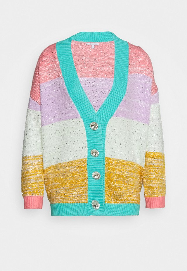 CECILY CARDIGAN - Strickjacke - multi