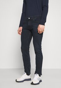 Tommy Jeans - SCANTON SLIM - Slim fit jeans - midnight extra dark blue - 0