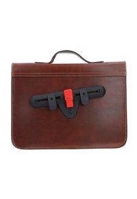 Gusti Leder - BJARNE R - Briefcase - walnut - 3