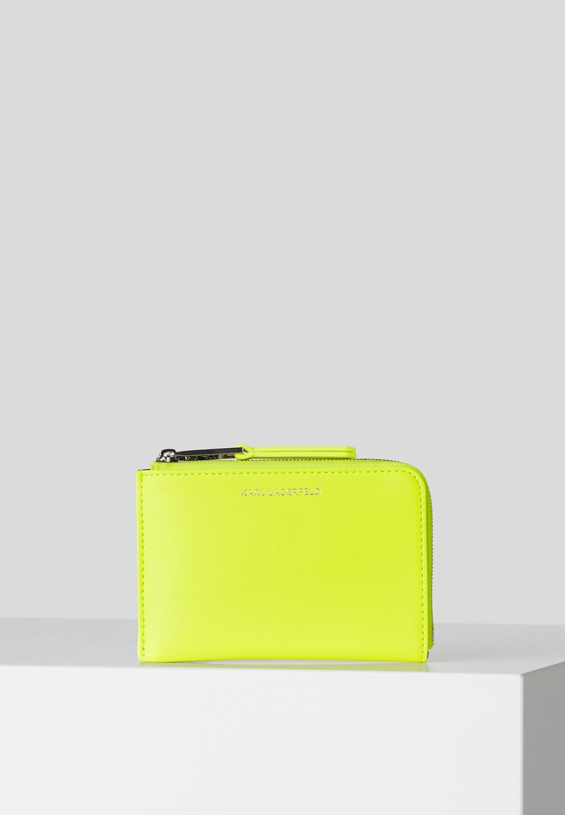 KARL LAGERFELD - JOURNEY NEON - Business card holder - yellow