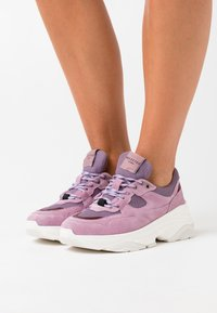Selected Femme - SLFGAVINA TRAINER - Trainers - fair orchid - 0