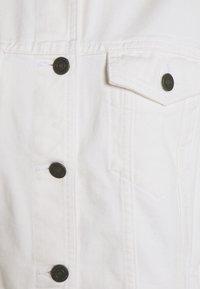 Noisy May - NMOLE JACKET - Jeansjakke - bright white - 2