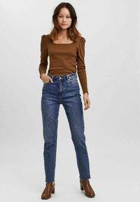 Vero Moda - NATASHA  - Long sleeved top - brown - 1