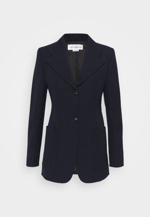 SMALL REVERS FITTED JACKET - Sportovní sako - dark navy
