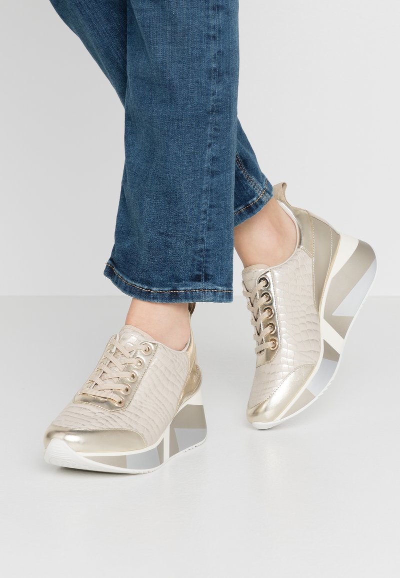 CAFèNOIR - Sneakers - platino