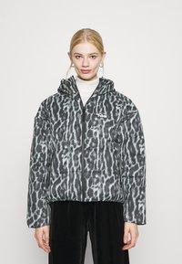 Nike Sportswear - Winter jacket - smoke grey/black/white - 0