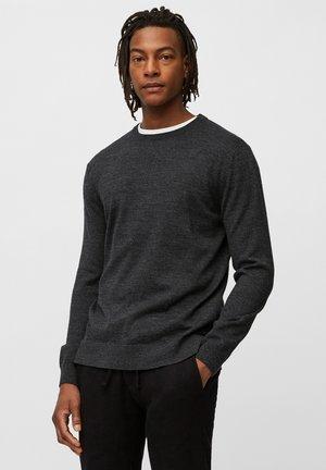 Jumper - multi-dark grey melange
