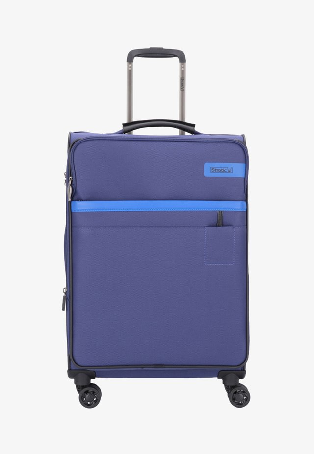 Wheeled suitcase - blue