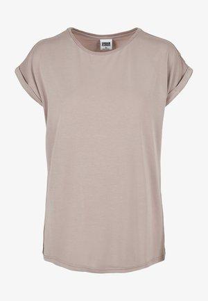 Basic T-shirt - duskrose