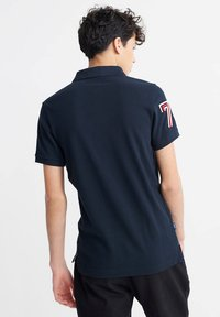 Superdry - CLASSIC SUPERSTATE - Polo shirt - eclipse navy - 1