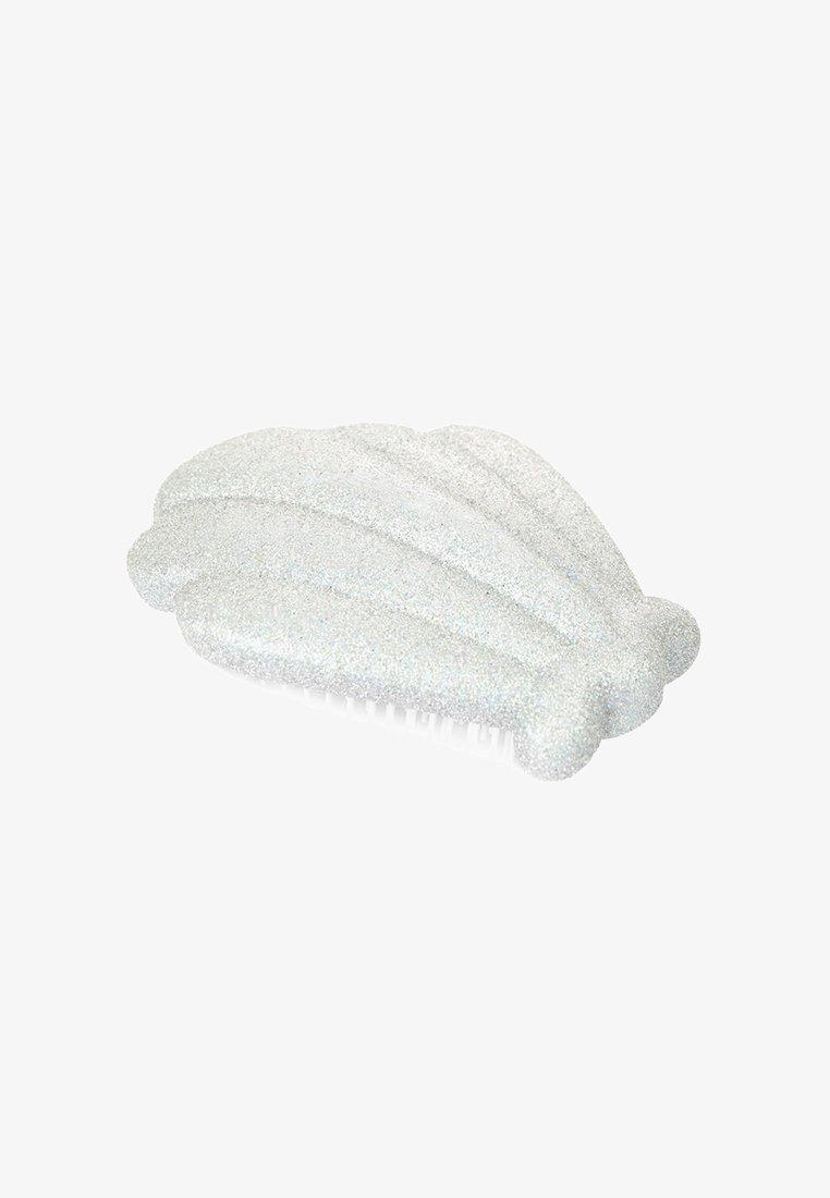 Skinnydip - SILVER GLITTER HAIRBRUSH - Brush - silver glitter