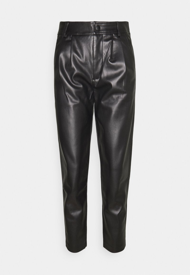 Freequent - FQHARLEY ANKLE - Trousers - black