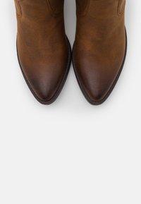 mtng - TANUBIS - Cowboy/Biker boots - brown - 5