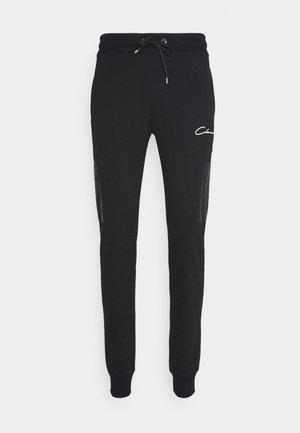 CONTRAST UTILITY JOGGER - Teplákové kalhoty - black