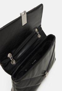 ALDO - RHILADIA - Across body bag - jet black/silver-coloured - 2