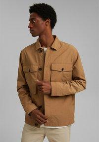Esprit - SAFARI - Summer jacket - camel - 0