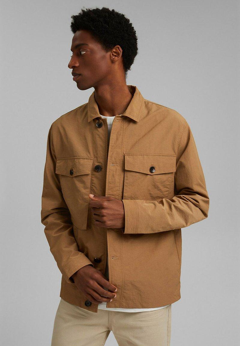 Esprit - SAFARI - Summer jacket - camel