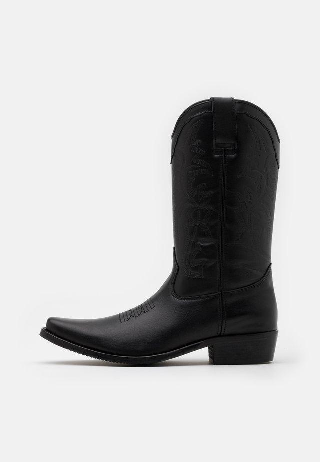 BIADALEN WESTERN BOOT - Kovbojské/motorkářské boty - black