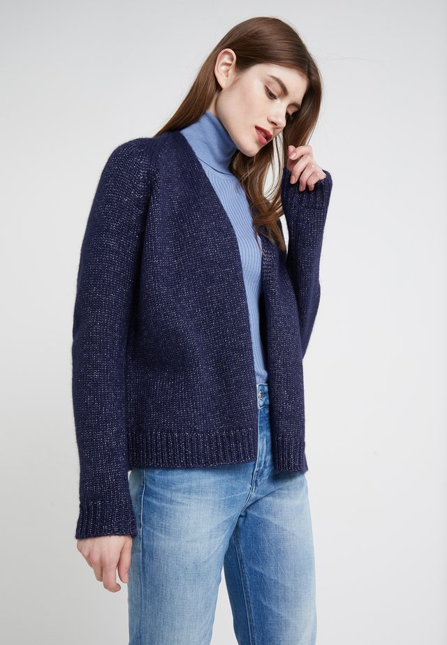 DRENA - Strickjacke - navy