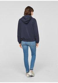 s.Oliver - Zip-up sweatshirt - blue - 2