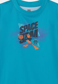 Outerstuff - SPACE JAM JUMP BALL TEE UNISEX - T-shirt con stampa - teal - 2