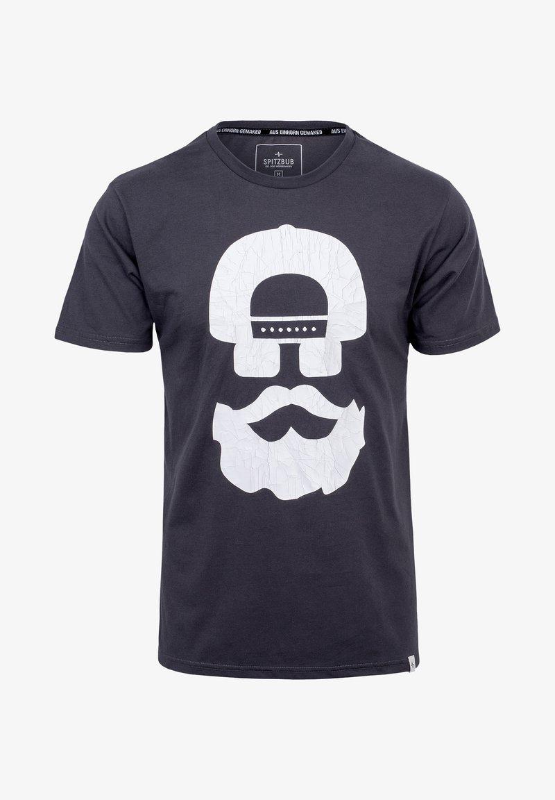 Spitzbub - Print T-shirt - black