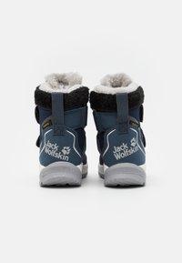 Jack Wolfskin - POLAR WOLF TEXAPORE MID VC UNISEX - Winter boots - dark blue/offwhite - 2