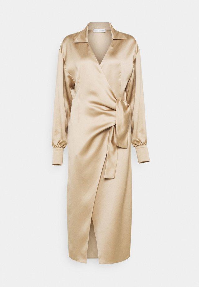 KELIAS - Robe de soirée - beige