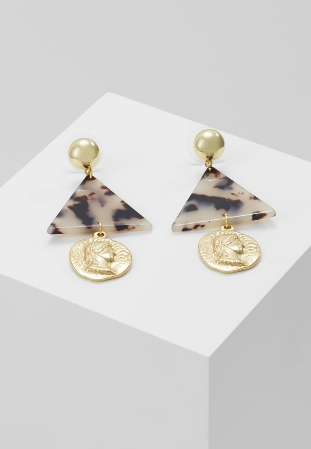 ESMA - Earrings - gold-coloured/weiß