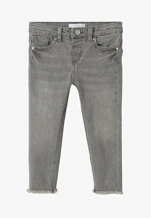 MOON - Slim fit jeans - denim grey