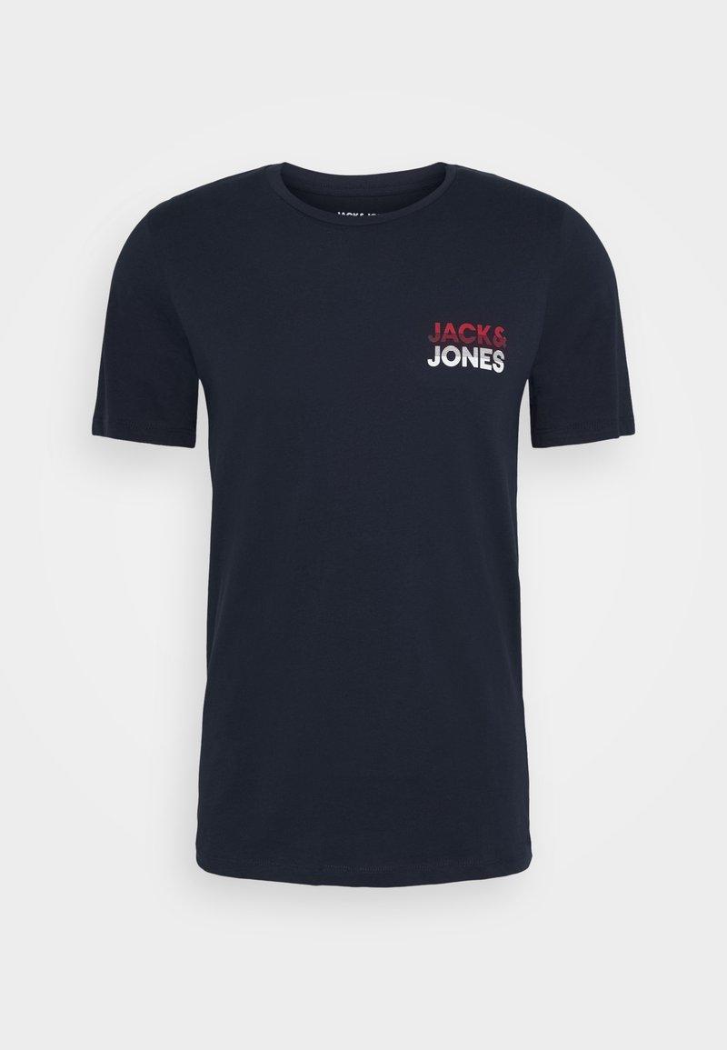 Jack & Jones JJJACK TEE CREW NECK - T-Shirt print - white/weiß 7eMCzg