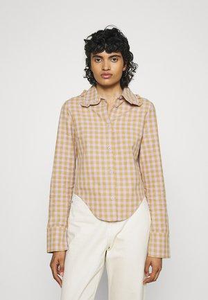 NEBRASKA SHIRT - Camicia - lilac/gold