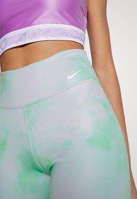 Nike Performance - ONE CORE - Leggings - green glow/white - 4
