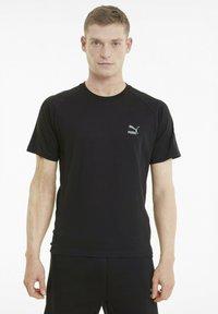 Puma - CLASSICS TECH  - T-shirts basic - puma black - 0