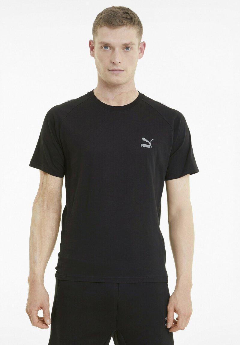 Puma - CLASSICS TECH  - T-shirts basic - puma black