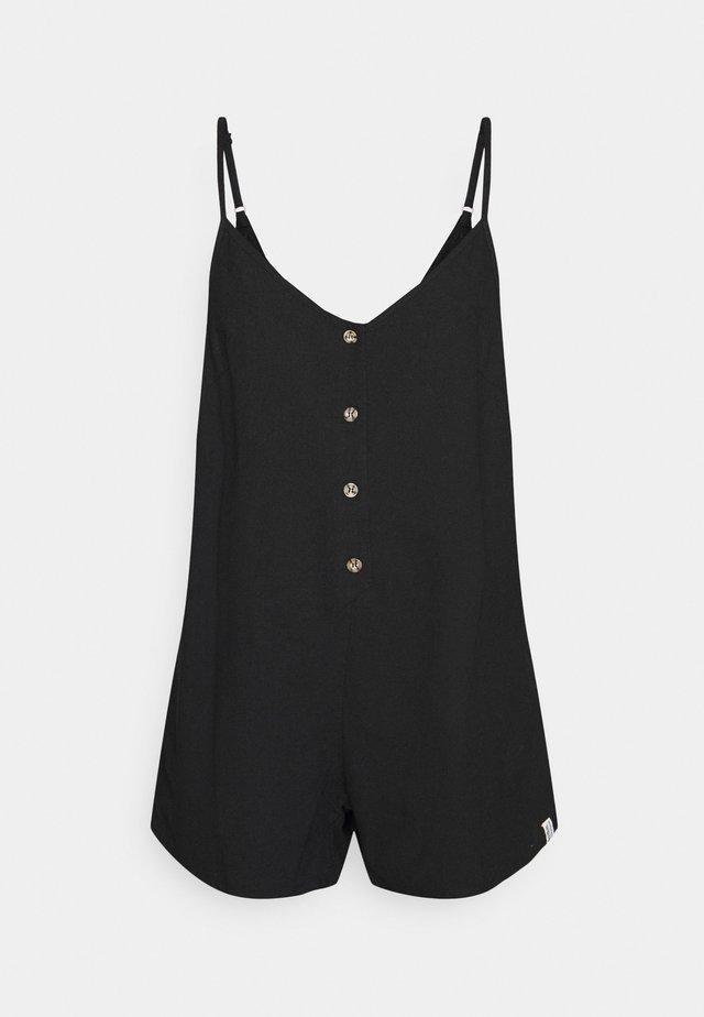 CLASSIC ADJUSTABLE ROMPER - Pyjama - black