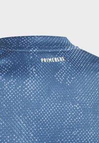 adidas Performance - Camiseta estampada - blue - 7