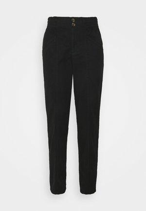 RUFFLE - Pantaloni - black