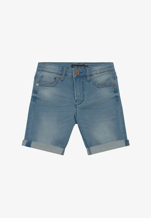 KIDS TUCKY - Jeansshort - light-blue denim