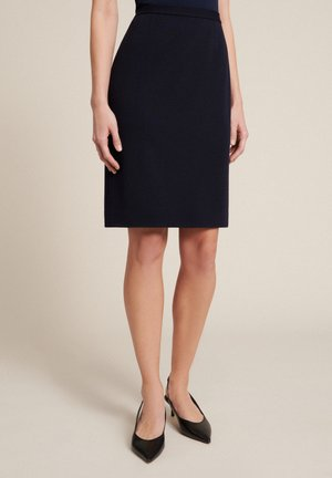MADRID         - A-line skirt - blu