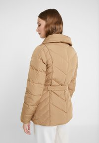 MICHAEL Michael Kors - FITTED PUFFER - Down jacket - dark camel - 3