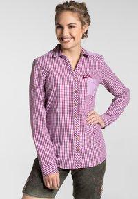 Spieth & Wensky - MALLORCA - Button-down blouse - berry - 0