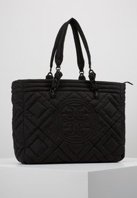 Tory Burch - FLEMING QUILTED TOTE - Tote bag - black - 0
