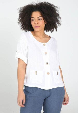 BOUTONS COCO - Blouse - white