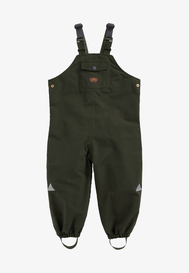 WATERPROOF DUNGAREES - Dungarees - olive