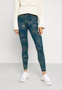 Nike Sportswear - TIGHT - Leggings - Trousers - valerian blue - 3