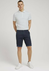 TOM TAILOR - JOSH  - Shorts - dark navy minimal design - 1