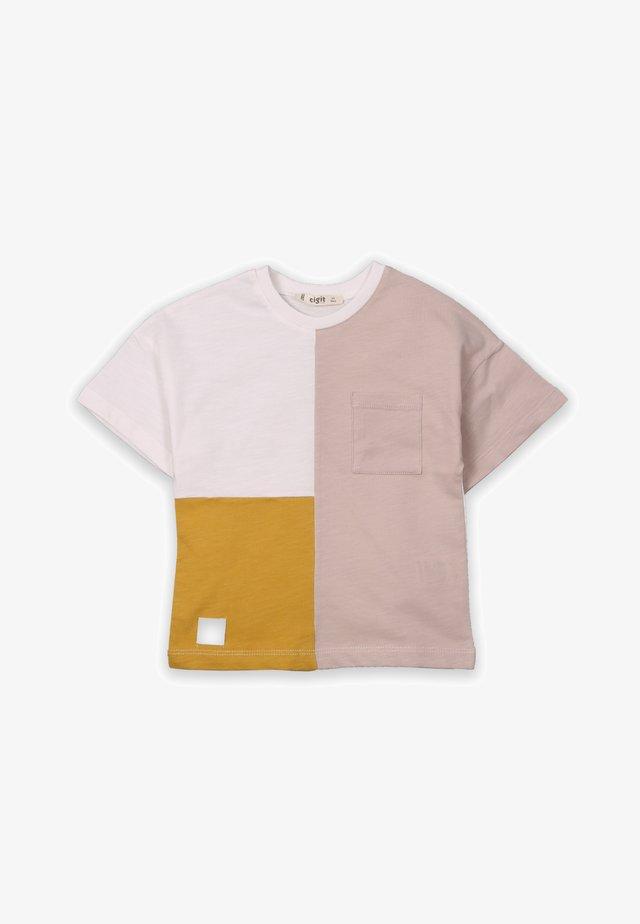 T-shirt con stampa - mustard yellow