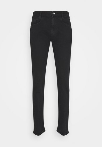 TROY - Slim fit jeans - black denim